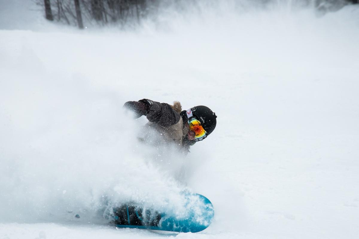 Snowboarding in Paganella