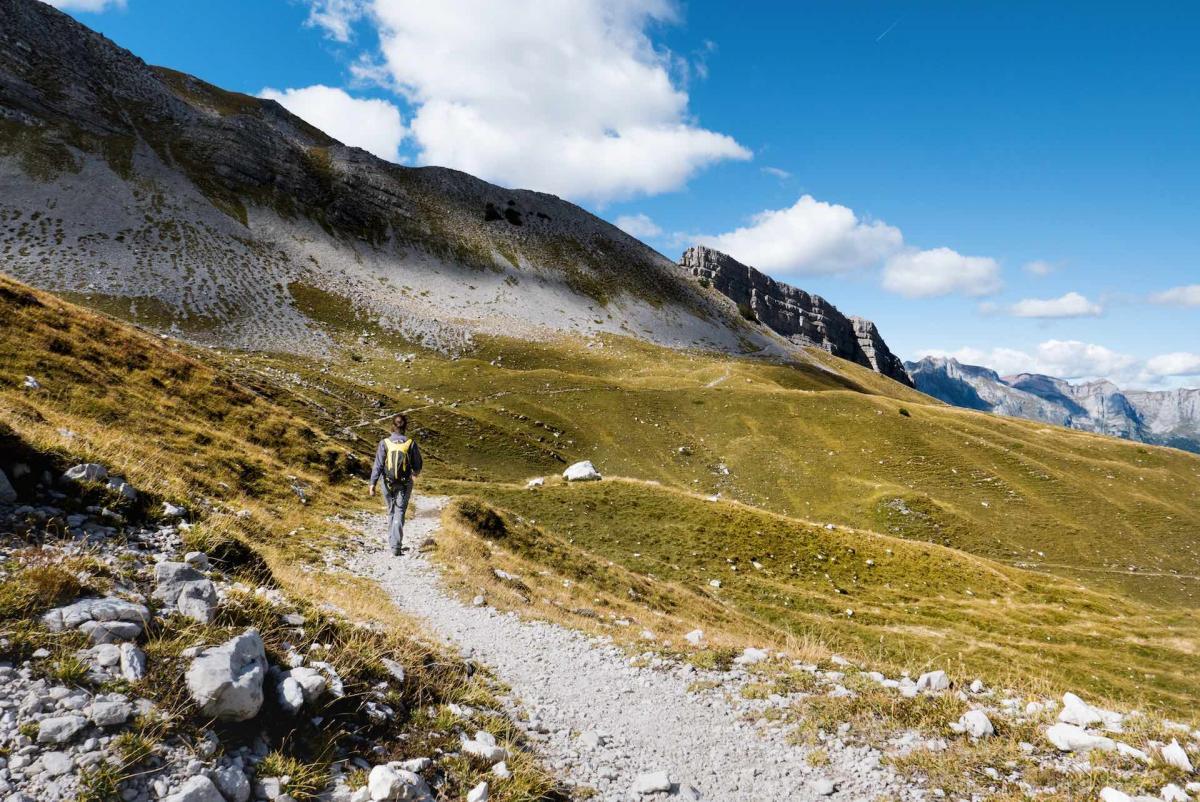 Walking in Trentino