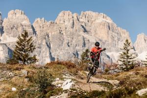 Vacanza bike Andalo Dolomiti